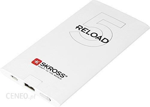 Powerbank Skross Reload 5 5000mAh Biały