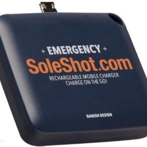 Powerbank Soleshot 1500mAh Niebieski (SOLESHOT2IN1VARE)