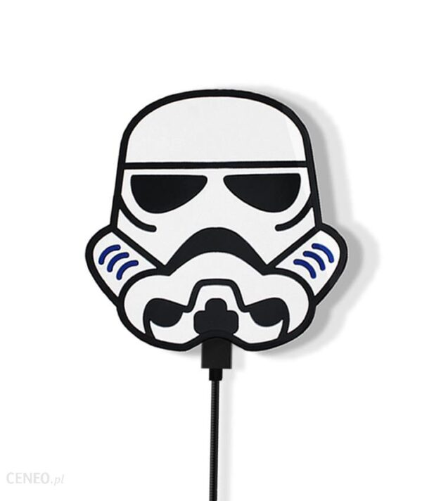 Powerbank Star Wars 3D Szturmowiec 001 Biały (SWPBSTOR001)