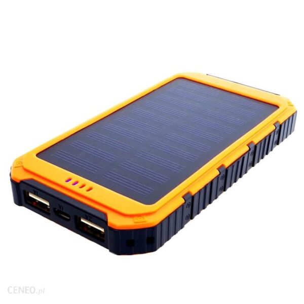 Powerbank Sunen 6000Mah Z Panelem Solarnym (S6000Y)