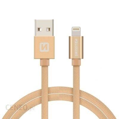 Swissten Kabel USB - Lightning 2m Złoty (71523304)