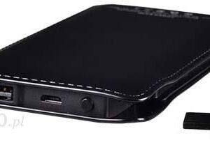 Powerbank Telone Tel1 Slim 12000mAh Czarny (TEL1SLIM12000BC)