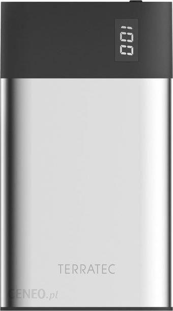 Powerbank TerraTec P40 SLIM 4000mAh Srebrny