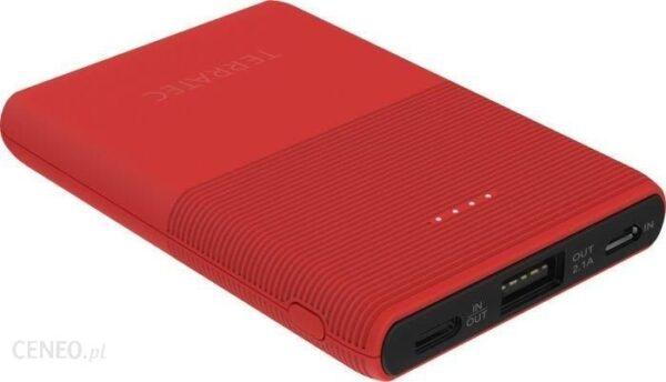 Powerbank TerraTec P50 5000mAh Czerwony