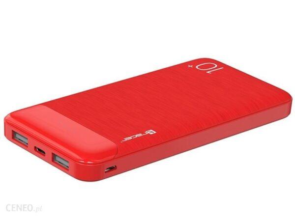 Powerbank TRACER 10000mAh Czerwony (TRABAT46803)