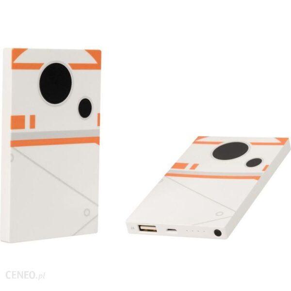 Powerbank Tribe Star Wars BB-8 4000mah Biały (SB3772)
