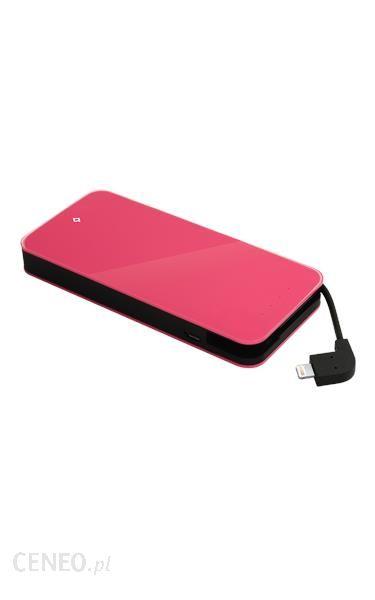 Powerbank Ttec Easycharge Slim 3000mAh Różowy (TEASYCHARGESLIMMFI3000P)