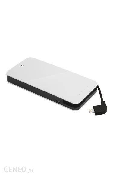 Powerbank Ttec Easycharge Slim 6000mAh Biały (TEASYCHARGESLIMMFI6000W)