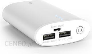 Powerbank Ttec Recharger Duo 10000mAh Biały (Trechargerduo10000Wht)