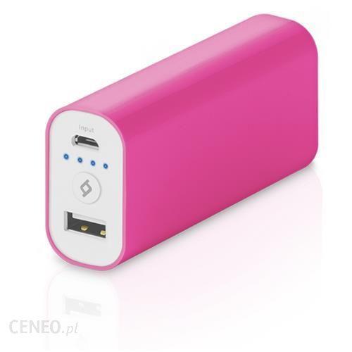 Powerbank Ttec Ultra Universal 2Bb107P 5200mAh Różowy (TPOWERUPULTRA5200P)