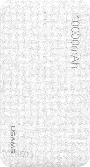 Powerbank Usams Mosaic 10000mAh biały (10KCD2102)