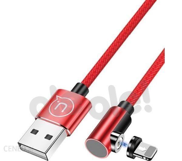 Usams US-SJ444 1m czerwony (SJ444USB02)