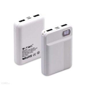 Powerbank V-TAC 10000mAh Biały (VT-3504)