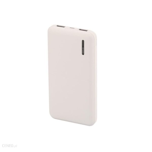 Powerbank V-TAC 10000mAh Super Slim Biały (VT-3518)
