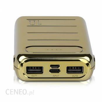 Powerbank V-TAC 20000mAh Złoty (VT-3523)