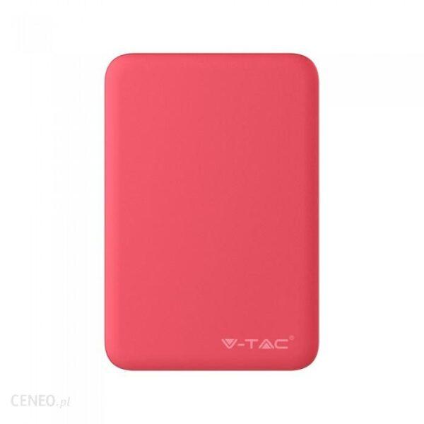 Powerbank V-TAC 5000mAh Czerwony (VT-3503)