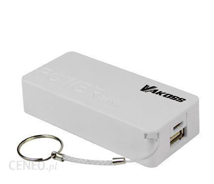 Powerbank Vakoss 5200mAh Biały (TP-2576W)