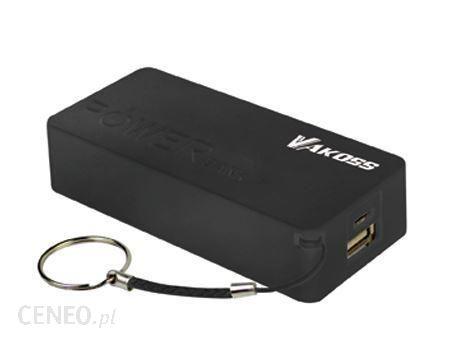 Powerbank Vakoss 5200mAh Czarny (TP-2576K)
