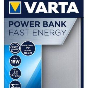 Powerbank Varta 10000mAh Szary (57981101111)