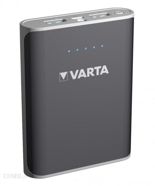 Powerbank Varta 6000mAh Szary (57960101401)