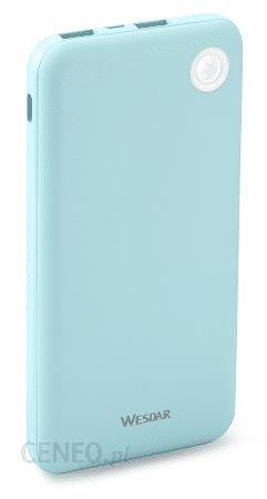 Powerbank Wesdar 10000Mah M555022 Niebieski