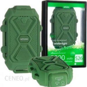 Powerbank Wesdar S4 10000mAh Zielony (M555029GN)