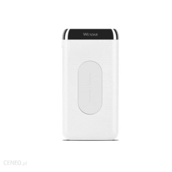 Powerbank Wesdar WS3 10000mAh Biały (M555028)