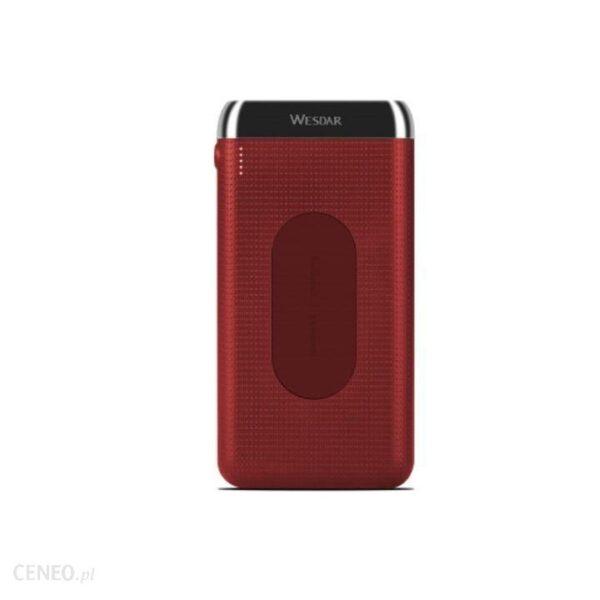 Powerbank Wesdar WS3 10000mAh Czerwony (M555028)