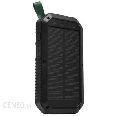 Powerbank XENIC Solarny 8000mAh Czarny (GRST81)