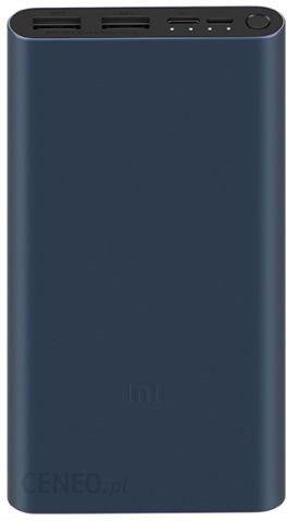 Powerbank Xiaomi 3 10000mAh Granatowy (PLM09ZM)