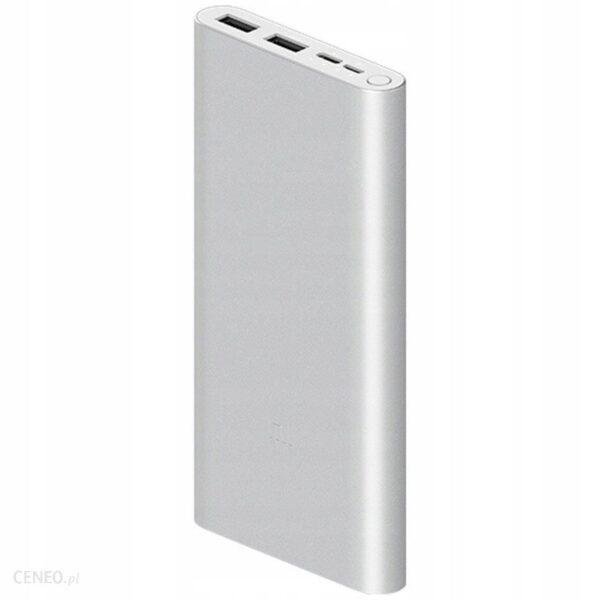 Powerbank Xiaomi 3 10000mAh Srebrny (PLM13ZM)