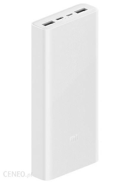 Powerbank Xiaomi 3 20000mAh Biały (PLM18ZM)