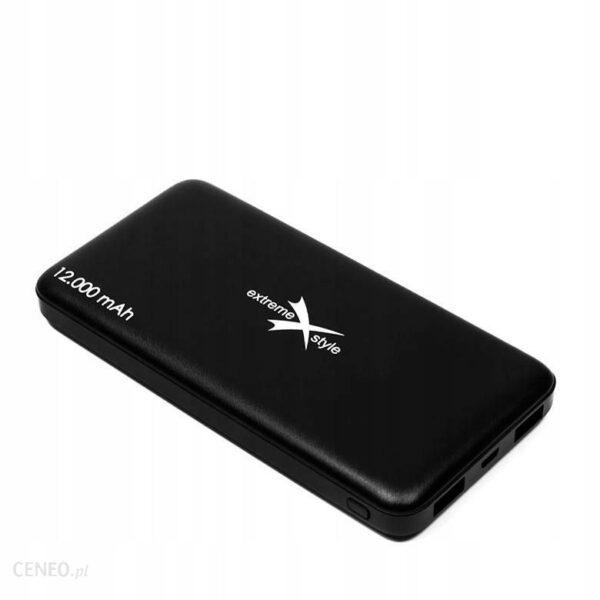 Powerbank Xtreme 12000mAh Czarny EPB12