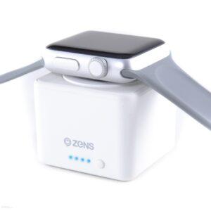 Powerbank Zens Zens Apple Watch Apple Watch 38mm&42mm 1300mAh Biały (ZEPW01W/00)